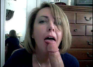 Milfs swallowing cum