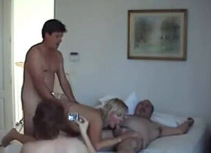 Mature couple swingers